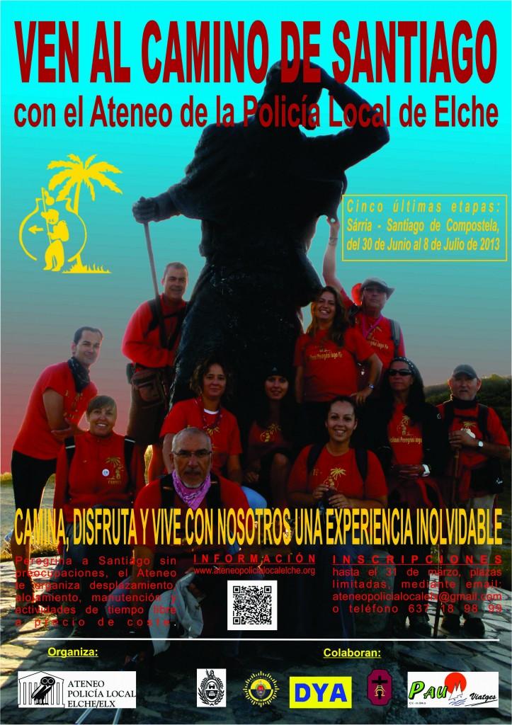 Cartel Camino Santiago 2013 8 CDR12