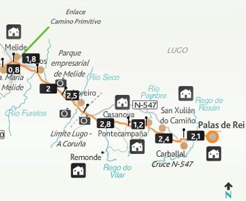 etapa-29-camino-frances Palas de Rei-Melide