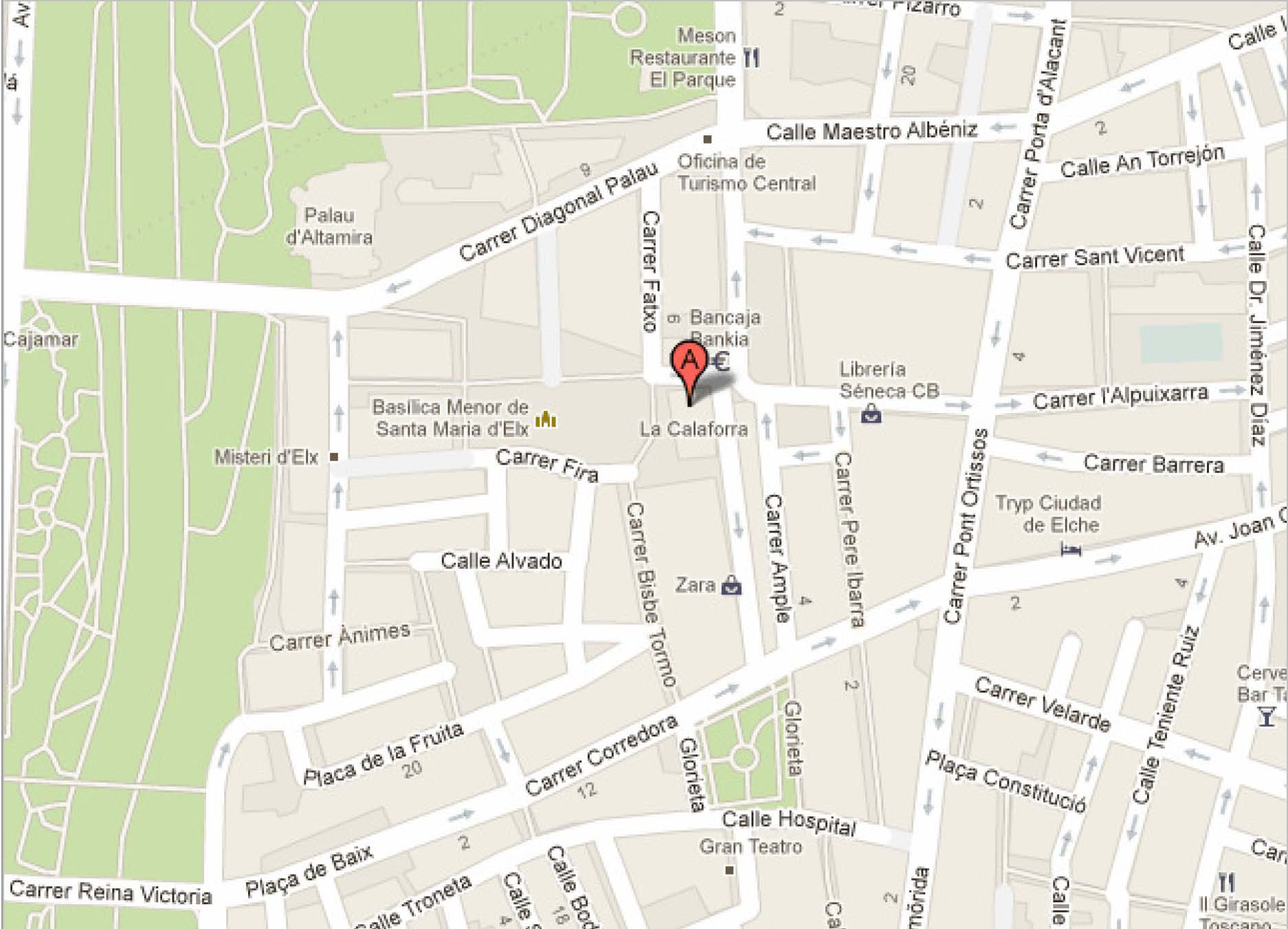 torre la calahorra, elche - Google Maps